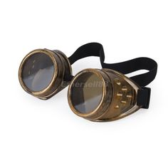 CYBER GOGGLES STEAMPUNK COSPLAY WELDING GOTH ANTIQUE VINTAGE VICTORIAN RUSTIC | eBay