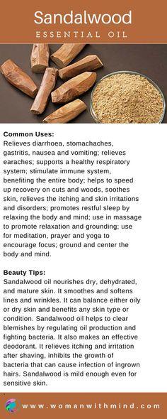 Sandalwood Essential Oil Guide & Application #essentialoils #diybeauty