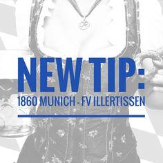 New tip for thursday: #1860 #Munich vs. #Illertissen >>>> http://beatthebookies.de/tipstrr