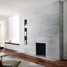 9 Remarkable Cool Tips: Fireplace Tile William Morris shiplap fireplace art is.Old Fireplace. Fireplace Facade, Concrete Fireplace, Craftsman Fireplace, Fireplace Seating, Shiplap Fireplace, Limestone Fireplace, Fireplace Mirror, Fireplace Design, Marble Fireplaces