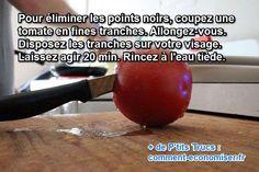 masque naturel à la tomate pour éliminer les points noirs