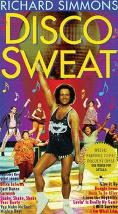 Richard Simmons saved me with this video when i was too heavy to do anything else exciting.
