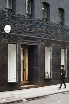 Paul Smith Albemarle Street store facade by 6a Architects: