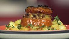 Brochettes de merlan pané à la menthe et aux agrumes et taboulé de quinoa : la recette facile
