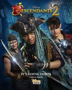 Uma, Gil, and Harry Hook from Descendants 2
