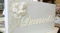 Vintage inspired box ... pearls all the way ... www.lilysattic.com.au