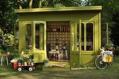 Signature Garden Shed by Orla Kiely
