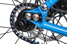 A bolt connects the dropout to the seatstay, making the frames compatible with gates carbon belts:  Bike Radar direct link