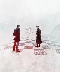 Sherlock vs Moriarty! |  Come & Play | » Alishenciya.tumblr.com