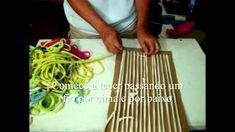 Artesanato : Tear de papelão - Craft: Loom cardboard - Artesanía: cartón Loom