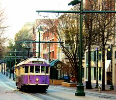 Purple Trolley Photograph by Barbara Chichester - Purple Trolley Fine Art Prints and Posters for Sale fineartamerica.com