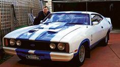 1978 Ford XC Falcon Cobra Australian Muscle Cars, Aussie Muscle Cars, American Muscle Cars, Ford Shelby, Ford Gt, Ford Mustang, Purple Mustang, Old Classic Cars, Classic Auto