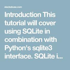 51 Best Sqlite images in 2018 | Python, Coding, Programming