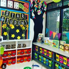 "211 Likes, 6 Comments - Kindergarten Lessons & Ideas (@earlycorelearning) on Instagram: ""Get inspired by @thegreenelementaryteacher 's classroom library. There is so much I love about this…"""