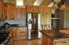 Applying rustic kitchen cabinets in your modern style house Rustic cabinets, Rustic cabinet doors and Cabinet doors.