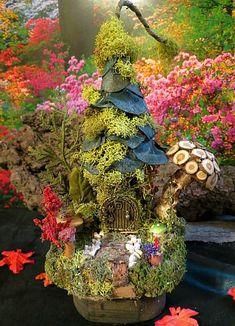 Fairy Houses and Miniature Gardens