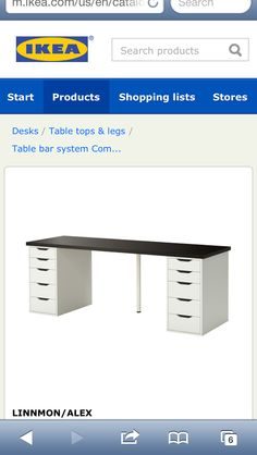 Ikea-sewing table