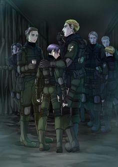 That ass is life Armin, Eren E Levi, Attack On Titan Fanart, Attack On Titan Funny, Levi Ackerman, Atack Ao Titan, Connie Springer, Captain Levi, Estilo Anime