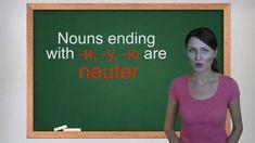 Russian Grammar Lesson 2: Gender of Russian Nouns Part 2