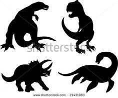 stock-photo-dinosaur-silhouettes-21431983.jpg (450×372)