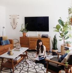 3 very inspiring living rooms in this style