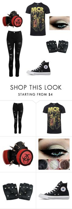 """""""Danger Days"""" by jamie-302 ❤ liked on Polyvore featuring Dorothy Perkins, GAS Jeans and Converse"""
