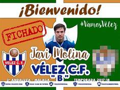 Después de hacer una sobresaliente temporada en el Barrio de Primera Andaluza, el delantero torreño, Javi Molina recala en el Vélez, según la pretemporada, podremos verlo en el filial, o seguro que puede ganarse un puesto en el primer equipo.   #barrio #javi molina