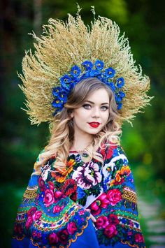 You like Eastern European women but, you find it difficult to understand their culture, attitude and behavior? Ukraine Women, Ukraine Girls, Fotografia Retro, Flower Head Wreaths, Ukrainian Dress, Ethno Style, Russian Fashion, Folk Costume, Costumes