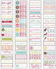 elementary organization: oh, calendar, my calendar.: