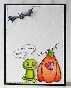 Gummiapan : Halloween-inspiration