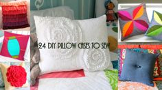 How to Make a Pillow Case: 24 DIY Pillow Cases to Sew - Redecorating your home is always fun, but it can surely be expensive. One way to bring down the cost of giving your home a new look is to make some of the decorations yourself like these DIY pillow cases. There are plenty of easy pillow cases you can sew, and there is always a free pillow case pattern out there to fit the style you are going for. These 24 free patterns will show you how to make a pillow case for any redecorating theme.