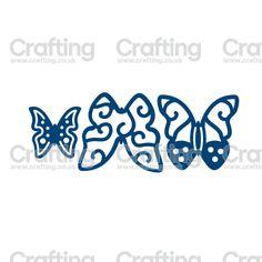Tattered Lace Mini Dies - Butterflies