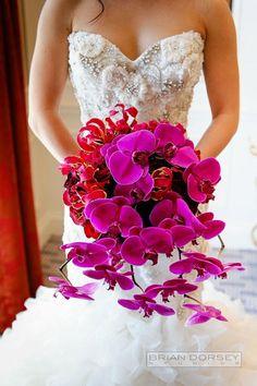 bridal bouquet; photo: Brian Dorsey Studios