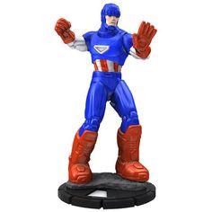 Marvel Heroclix: Captain America Sentinel.