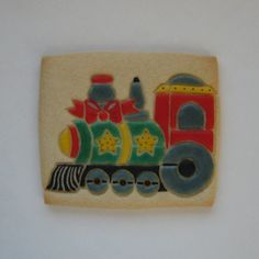 Train   Sugar Cookie   Tamara