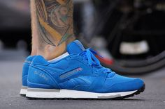 Clean blue you | Reebok GL 6000 Cycle Blue/Cement