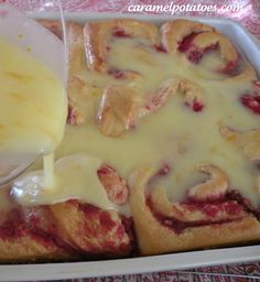 Cranberry Pecan Orange Rolls - can you say YUM!
