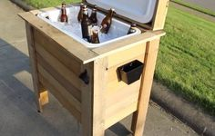 PalletCoolerForList | Stock Up on Wooden Pallets. These 16 Pallet Projects Are Genius!