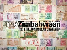 """""""The Trillion Dollar Campaign"""". Super project from TBWA for 'The Zimbabwean' newspaper."""