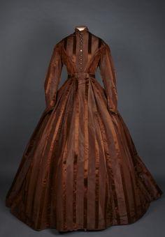 Day dress, 1860-70