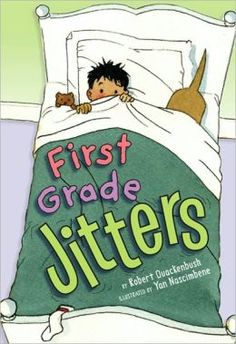 I use this book, First Grade Jitters by Robert Quackenbush, at the beginning of the year. I also use the activities and graphic organizers in this packet along with the book to help my students with their first grade jitters. The packet is aligned to common core for k-2nd, it is differentiated, and available in color and black white. First Grade Books, Teaching First Grade, First Grade Jitters, First Grade Classroom, First Grade Reading, Student Teaching, Starting School, School Counseling, School Kids