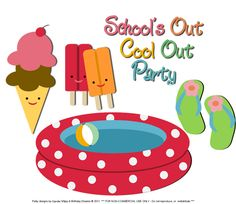 Cupcake Wishes & Birthday Dreams: {Party Starters} Make a SPLASH! with a School's Out Cool Out