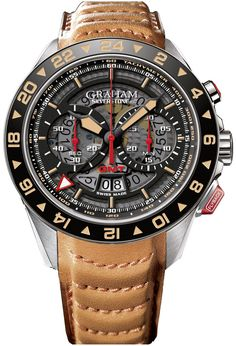 Graham Watch Silverstone GMT Limited Edition Pre-Order