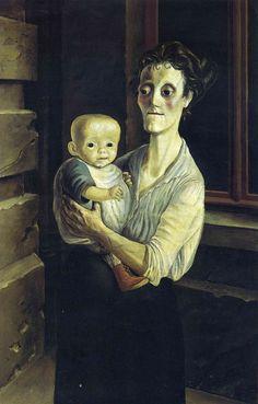 DIX Otto - Mère et enfant - Allemagne 1921
