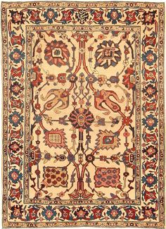 Antique Kerman Persian Rug 42480 - Detailed Photo | Large Image