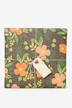 Rifle Paper Co. Midnight Floral Wrapping Sheets