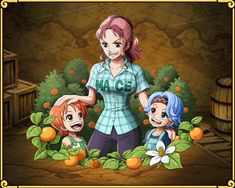 Bellmere Nami and Nojiko's Mother
