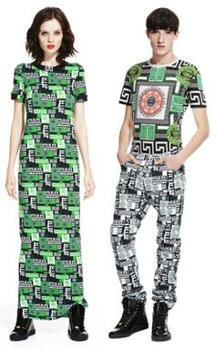 M.I.A. x Versus Versace collection
