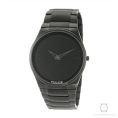 Police Men s PL-12744JSB 02M Horizon Black Dial Black IP Steel Bracelet  Watch cad137b37f