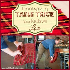 Learn how to pull a tablecloth out from under a place setting without disrupting the dishes and leave a lot more than the flowers standing.